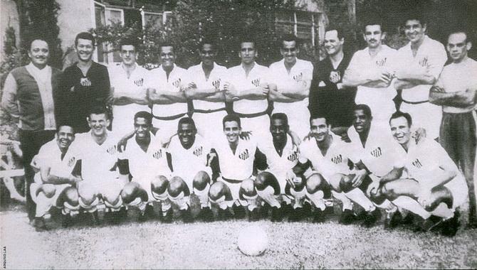Бразильский футбольный клуб Сантос образца 1959 года