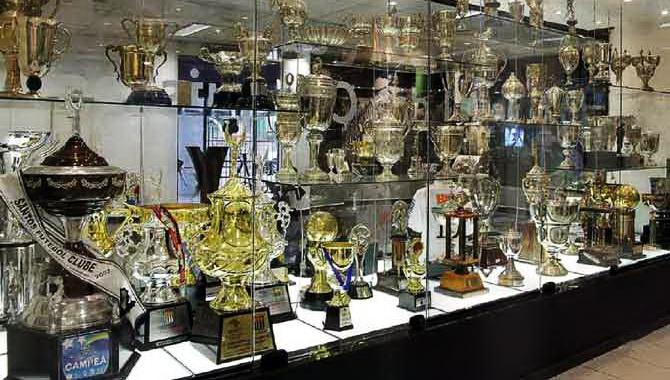 Музей славы бразильского футбольного клуба Сантос