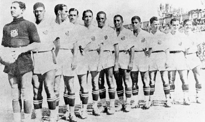 Сантос - победитель чемпионата Паулисты (чемпионата штата Сан-Паулу) 1935 года
