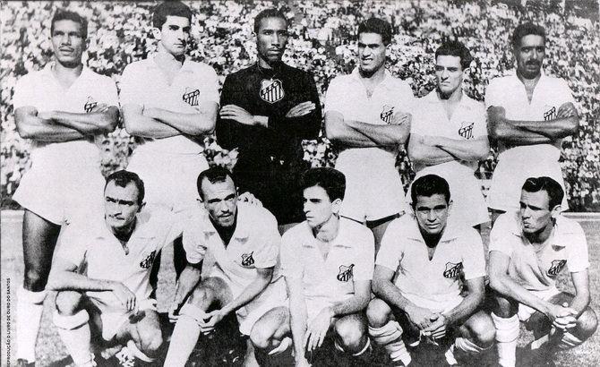 Сантос - победитель чемпионата Паулисты (чемпионата штата Сан-Паулу) 1956 года