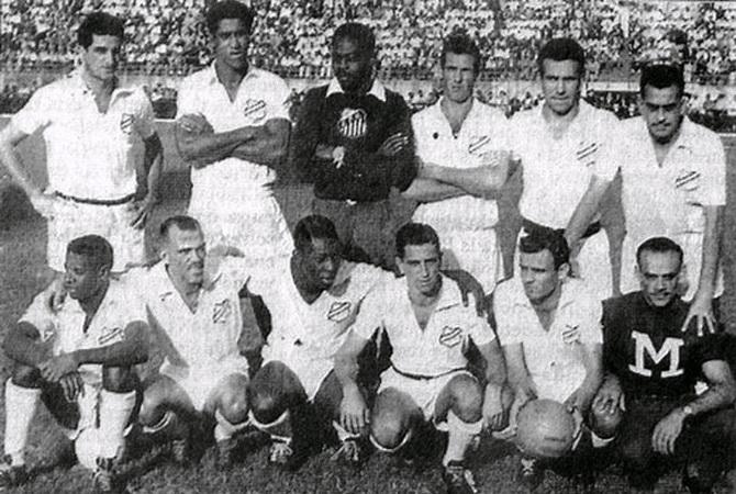 Сантос - победитель чемпионата Паулисты (чемпионата штата Сан-Паулу) 1958 года