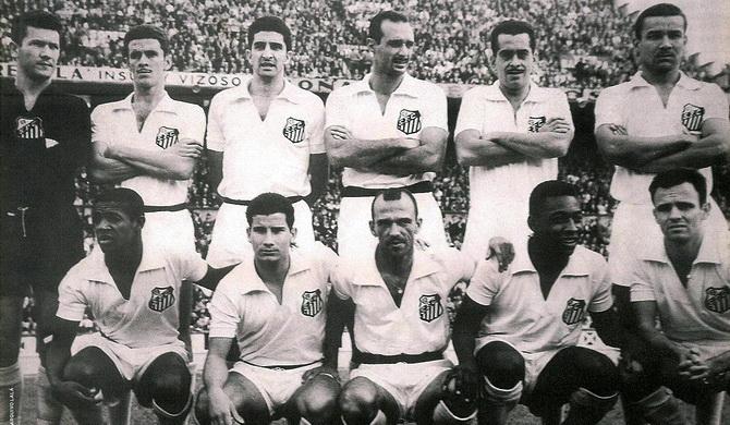 Сантос - победитель турнира Рио - Сан-Паулу 1959 года