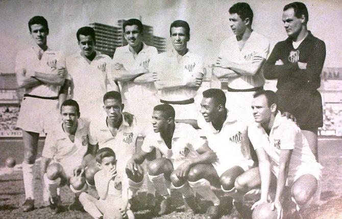 Сантос - победитель чемпионата Паулисты (чемпионата штата Сан-Паулу) 1961 года