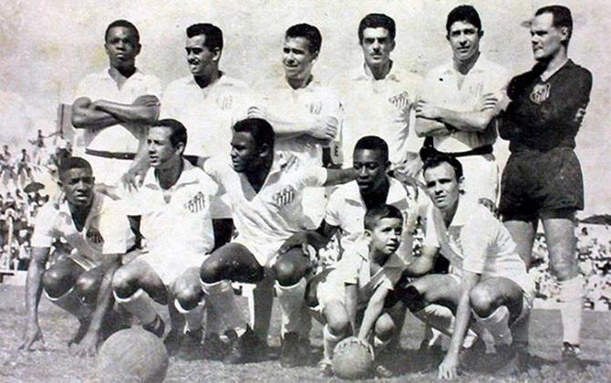 Сантос - чемпион Кубка (Чаши) Бразилии 1961 года