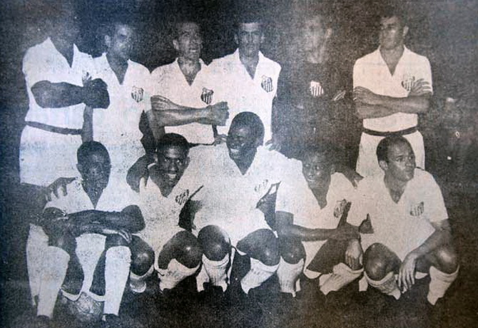 Сантос - чемпион Кубка (Чаши) Бразилии 1962 года