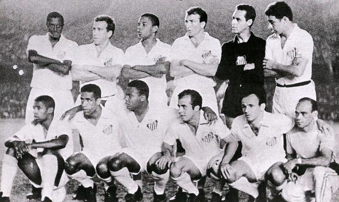 Сантос - обладатель Межконтинентального Кубка 1963 года
