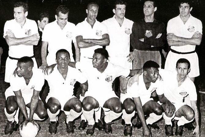 Сантос - обладатель Кубка Либертадорес 1963 года