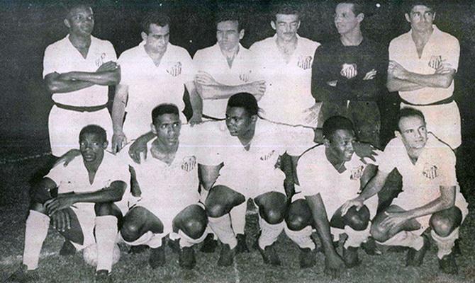 Сантос - победитель турнира Рио - Сан-Паулу 1963 года