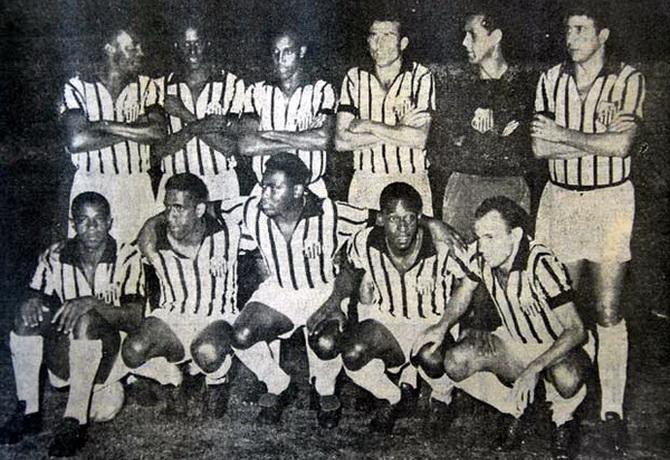 Сантос - чемпион Кубка (Чаши) Бразилии 1963 года