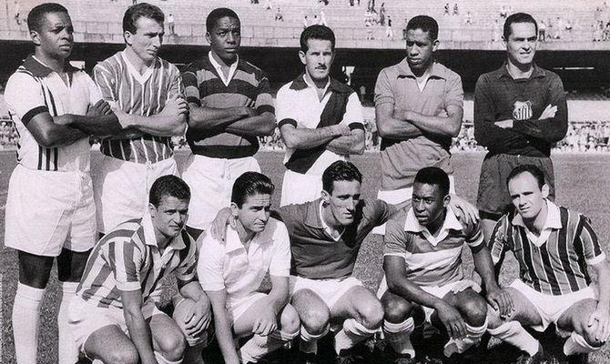 Сантос - победитель турнира Рио - Сан-Паулу 1964 года