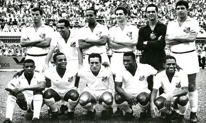 Сантос - чемпион Кубка (Чаши) Бразилии 1965 года