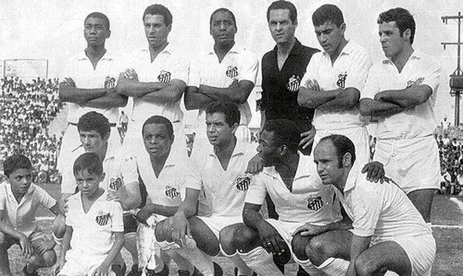 Сантос - победитель турнира Рио - Сан-Паулу 1966 года