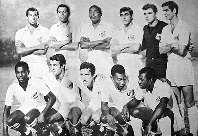 Сантос - победитель чемпионата Паулисты (чемпионата штата Сан-Паулу) 1967 года