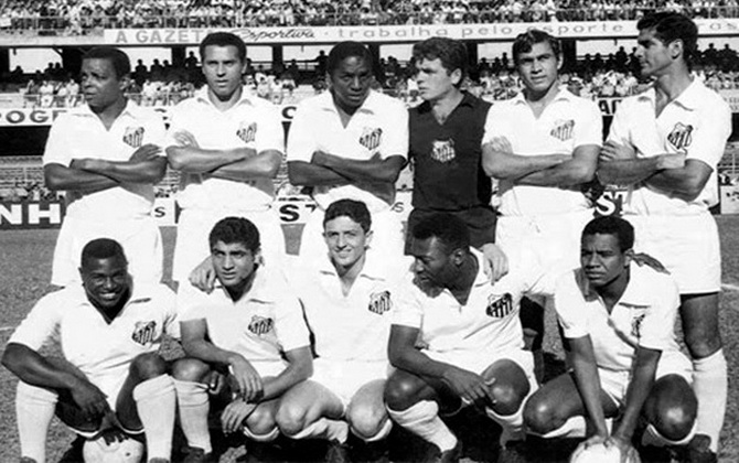Сантос - победитель чемпионата Паулисты (чемпионата штата Сан-Паулу) 1968 года