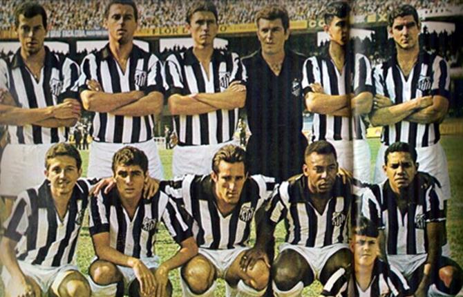 Сантос - победитель турнира Роберто Гомеса Педросы 1968 года
