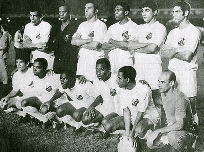 Сантос - победитель чемпионата Паулисты (чемпионата штата Сан-Паулу) 1969 года