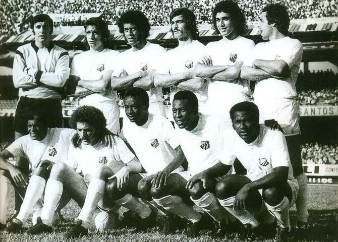 Сантос - победитель чемпионата Паулисты (чемпионата штата Сан-Паулу) 1973 года