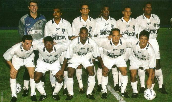Сантос - победитель турнира Рио - Сан-Паулу 1997 года