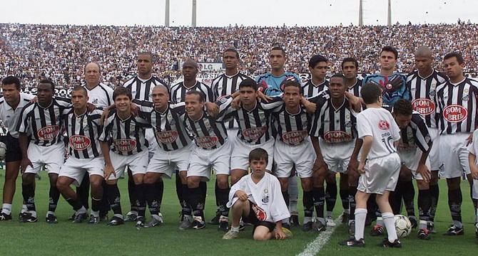 Сантос - чемпионата Бразилии в серии А 2002 года