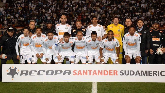 Бразильский футбольный клуб Сантос